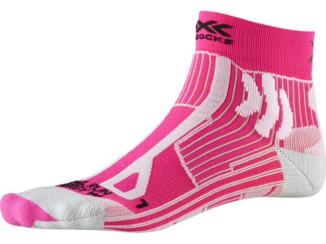 X-Socks Trail Run Energy Calcetines Mujer, pink